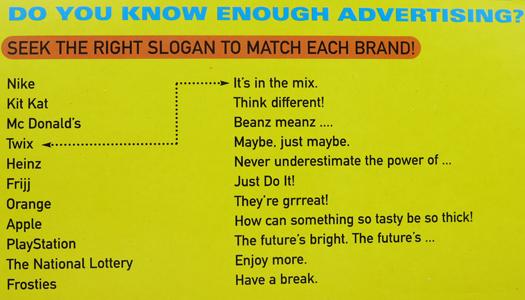 Brand game