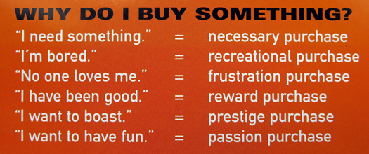 Why buy