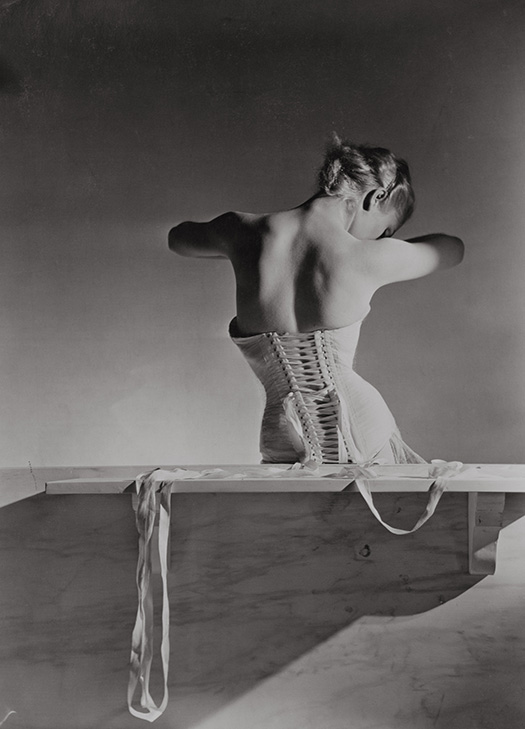 Corset by Detolle for Mainbocher 1939 Conde Nast Horst Estate