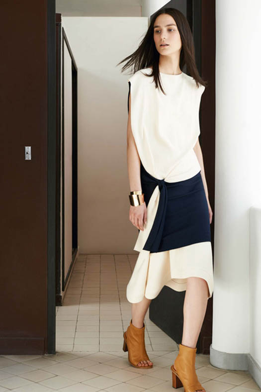 Chloe, Resort 2015, Look 1, Source: style.com