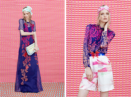 House of Holland, Resort 2015, Look 1, Source: Style.com