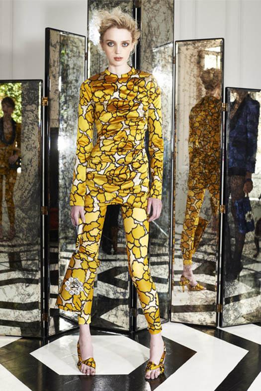 Marc Jacobs, Resort 2015, Look 4, Source: style.com