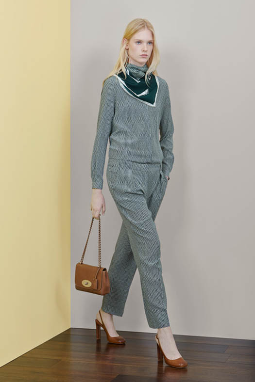 Mulberry, Resort 2015, Look 6, Source: style.com