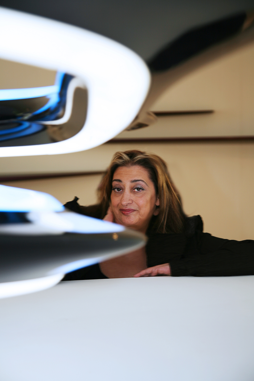Dame Zaha Hadid, Founder and Director of Zaha Hadid Architects. Source: Luke Hayes