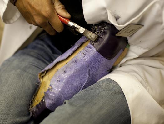 nail shoes