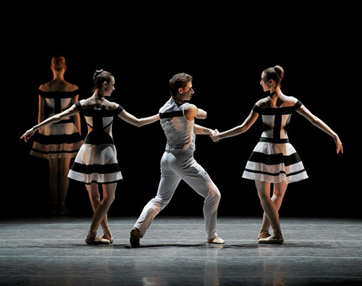 'Two Hearts' by by Benjamin Millepied (2012), costumes by Rodarte